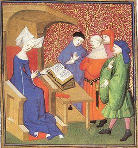 Christine de Pizan, Wikipedia image